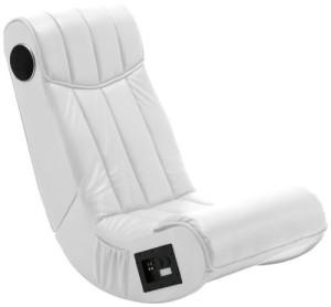 Soundsessel, 1 x Subwoofer, 2 x Lautsprecher eingebaut ♥ Multimediasessel, Sessel mit Lautsprecher♥ 19 kg ♥ Weiß