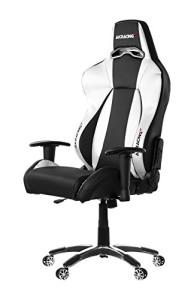 AKRacing Stuhl, Premium ♥ Ak Racing Stuhl ♥ 25 kg ♥ schwarz / silber