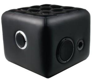 Zyon Sound Cube ♥ Musik drahtlos über Bluetooth streamen ♥ 6 kg ♥ schwarz