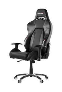 AKRacing Stuhl, Premium ♥ Gaming Stuhl ♥ 25 kg ♥ schwarz
