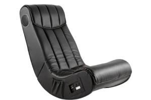 AC Design Furniture 8553 Multimediasessel | Multimedia Sessel | Sessel mit Lautsprecher | Schwarz