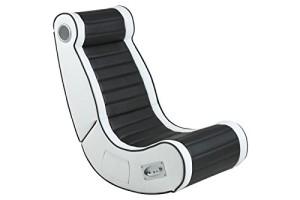Soundsessel, Bluetooth Audio System ♥ Musik Sessel, Music Rocker Soundsessel ♥ 22 kg ♥ schwarz / weiß