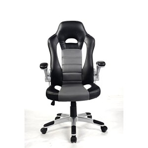 Racing Sportsitz ♥ Bürostuhl günstig ♥ 15 kg ♥ schwarz / weiß