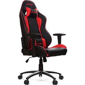 AKRacing Stuhl, Nitro ♥ Akracing vs DXracer ♥ 25 kg ♥ schwarz / rot