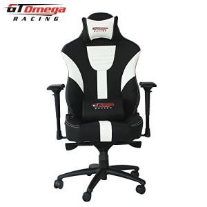 Bürostuhl ♥ Racing Bürostuhl  ♥ 25 kg ♥ schwarz / weiß