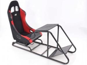 Game Seat ♥ Rennsimulator für PC oder Spielekonsole ♥ 30 kg ♥ schwarz / rot / gold