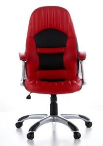 hjh OFFICE 621300 Zockersessel | Gamerstuhl RACER 200 Kunstleder rot | Gamersessel