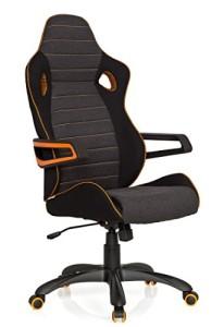 Bürostuhl ♥ Bürostuhl Racing ♥ 18 kg ♥ schwarz / grau / orange