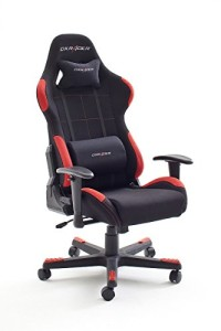 DX Racer | Gaming Stuhl | Gaming Stühle | schwarz / rot