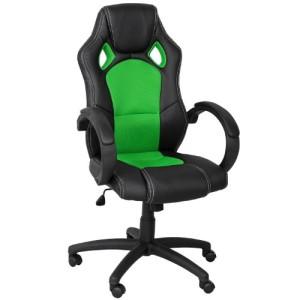 Computerstuhl ♥ Zockersessel ♥ 15 kg ♥ schwarz /grün