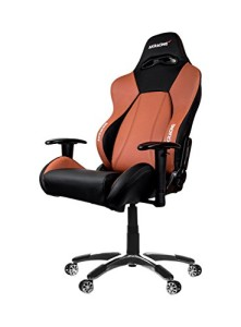 AKRacing Stuhl, Premium ♥ Ak Racing Chair ♥ 25 kg ♥ schwarz / braun