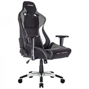 AKRacing Stuhl, ProX ♥ Gaming Throne ♥ 25 kg ♥ schwarz / grau / weiß