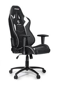 AKRacing Stuhl, Dignitas ♥ Akracing vs DXracer ♥ 25 kg ♥ schwarz / weiß