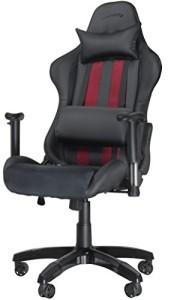 Gaming Chair ♥ PC-Gaming-optimierter Schreibtischstuhl ♥ 22 kg ♥ schwarz