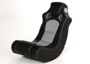 Multimedia-Sessel ♥ Bass-Sound-Sitz, Musiksessel ♥ 18 kg ♥ schwarz / grau